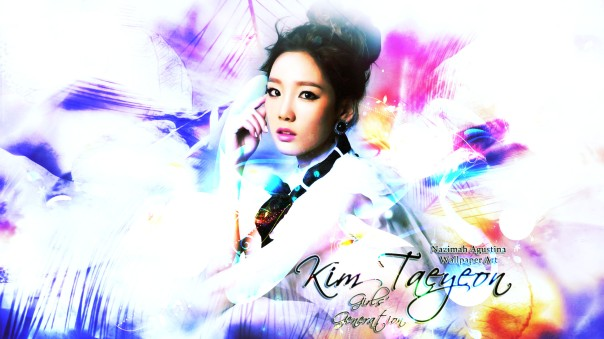kim taeyeon soft light wallpaper by nazimah agustina