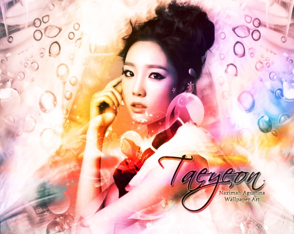 kim taeyeon taeng kid leader soft light art dream photoshop snsd gg by nazimah agustina