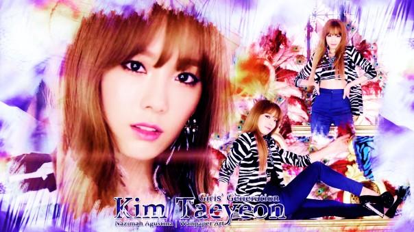 kim taeyeon taetiseo tts 2014 holler 2nd mini album snsd
