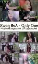 kwon boa only one mv screencaps drama version picspam art by nazimah agustina
