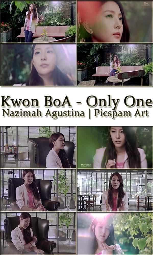 kwon boa only one mv screencaps drama version picspam art by nazimah agustina