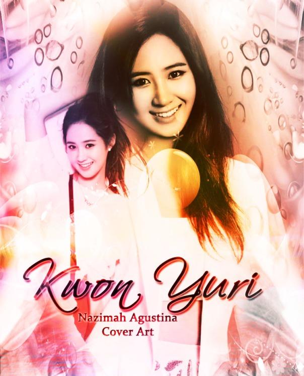 kwon yuri snsd soft color art photoshop by nazimah agustina