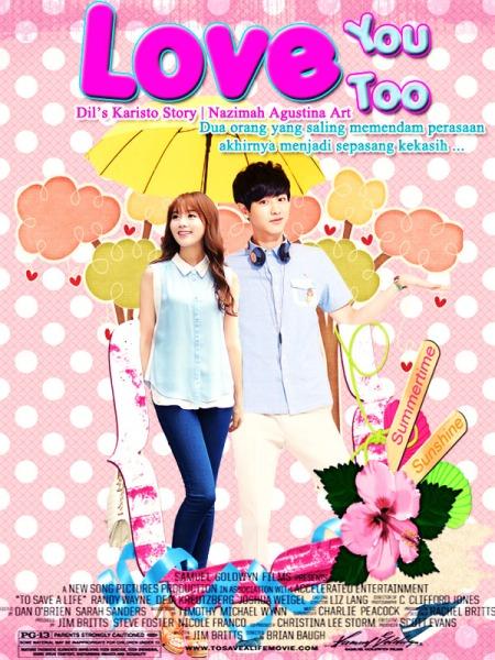 love you too park chanyeol exo cver fanfic fancy school life romance happy saling memendam perasaan menjadi sepasang kekasih