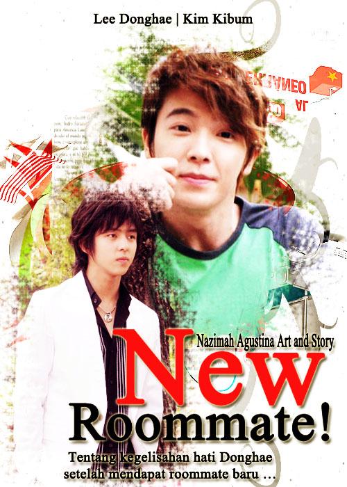 new roommate cover fanfiction kihae kibum donghae super junior kegelisahan hati setelah mendapat baru nazimah school life friendship romance