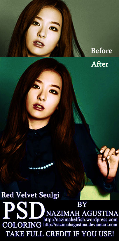 preview kang seulgi red velvet psd coloring by nazimah agustina