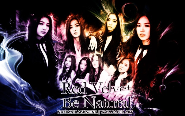 red velvet be natural kang seulgi irene wendy son joy park 2nd single drama romantic wallpaper by nazimah agustina