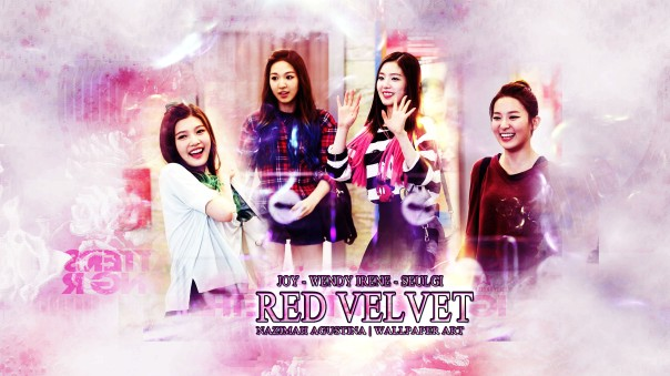 red velvet wallpaper joy wendy irene seulgi wallpaper by nazimah agustina
