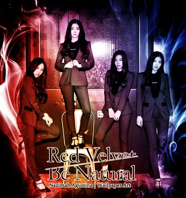 rv be natural red velvet 2nd single sexy concept blazer sment new girlgroup wallpaper