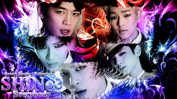 shinee everybody mv 2014 drama romantic wallpaper minho taemin jonghyun key onew by nazmah agustina
