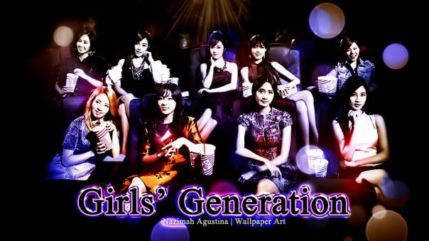snsd bioskop girls' generation wallpaper light