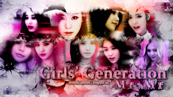 snsd mr mr girls generation wallpaper ot9 2014
