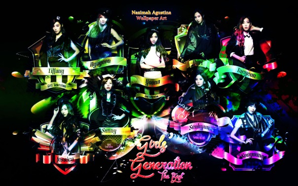 snsd the best new image abstract free style wallpaper japan sjjd gg by nazimah agustina