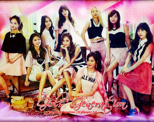 snsd the best wallpaper by nazimah agustina
