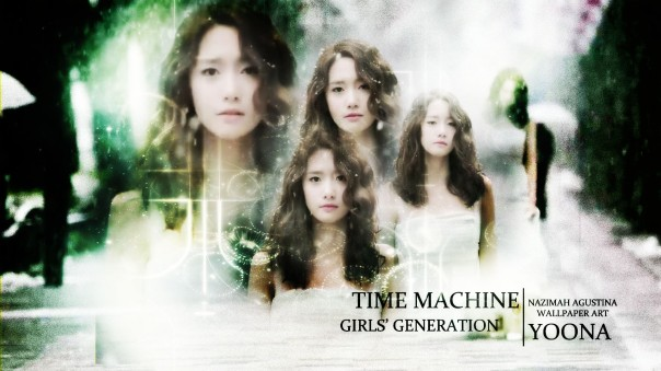 SNSD YOONA TIME MACHINE wallpaper sad mv capture by nazimah agustina