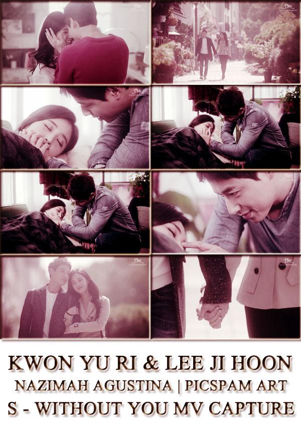 snsd yuri and lee ji hoon s without you mv capture picspam art by nazimah agustina