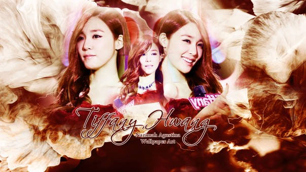 tiffany snsd on stage wallpaper inkigayo award