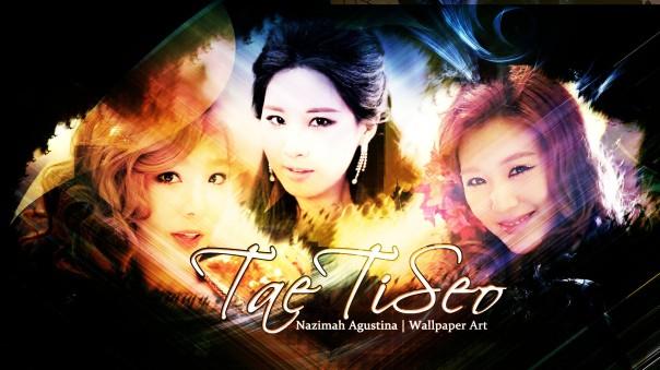 tts taetiseo snsd drama romantc wallpaper kim taeyeon tiffany hwang seo joohyun wallpaper by nazimah agustina