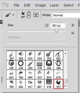 tutorial bagaimana cara merubah png menjadi brush pada photoshop 4