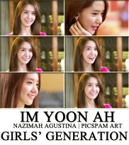 YOONA for prime minister and i picspam art by nazimah agustina
