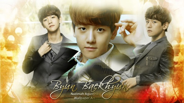 byun baekhyun wallpaper ivy club exo new by nazimah agustina