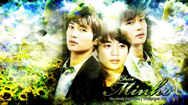 choi minho fresh abstract nature wallpaper handsome shinee visual by nazimah agustina