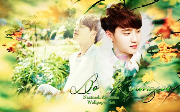 do kyungsoo nature republic wallpaper by nazimah agustina