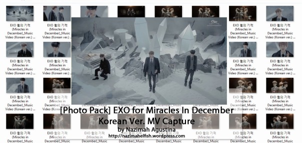 download photo pack exo miracles in december baekhyun chen do mv capture screencaps preview by nazimah agustina