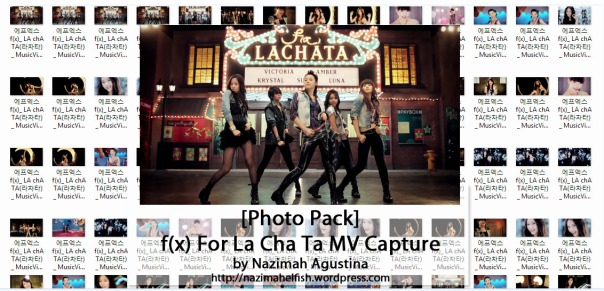 download photo pack f(x) la cha ta music video capture screencaps by nazimah agustina