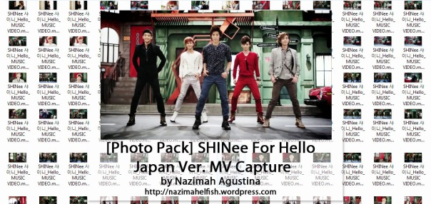download photo pack shinee hello jonghyun taemin minho key onew japanese ver mv capture screencaps preview by nazimah agustina