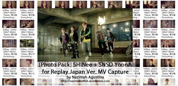 download photo pack shinee replay snsd yoona jonghyun taemin minho key onew japanese ver mv capture screencaps preview by nazimah agustina