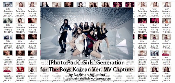 download photo pack snsd girls generation the boys korean ver mv capture screencaps preview ot9 by nazimah agustina