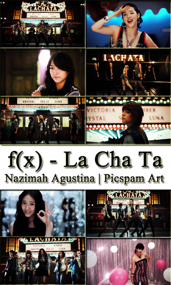 f(x) forla cha ta music video debut 2009 picspam art by nazimah agustina
