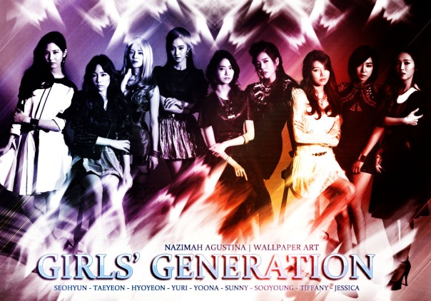 GG snsd drama romantic wallpaper japan ot9 by nazimah agustina
