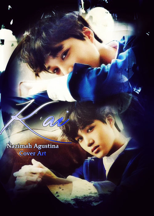 kai season greeting cover art 2015 sleepy face exo kim jongin blue by nazimah agustina