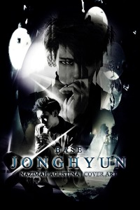 kim jonghyun dark light cover light debut solo shinee base 2015 by nazimah agustina