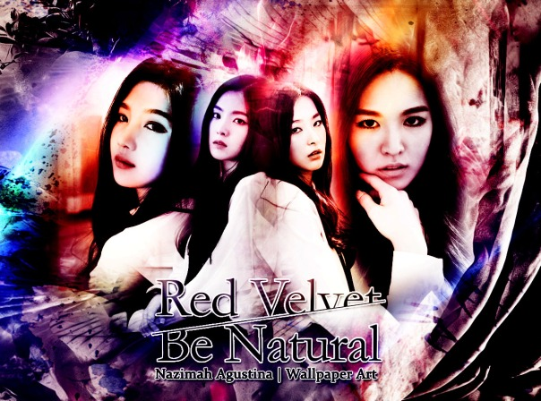 red velvet be natural abstract drama romantic wallpaper irene joy seulgi wendy by nazimah agustina
