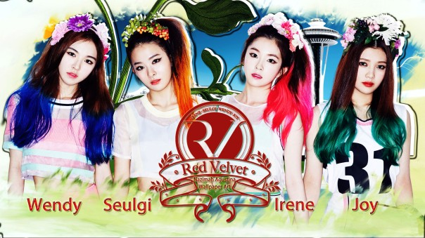 red velvet cute single debut happiness cerah ceria bahagia wallpaper by nazimah agustina