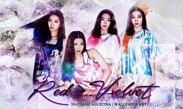 red velvet irene bae kang seulgi wendy son park joy super bright wallpaper by nazimah agustina