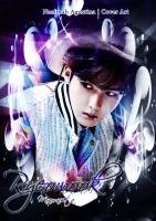 ryeowook mamacita super junior cover light purple new 2015 by nazimah agustina