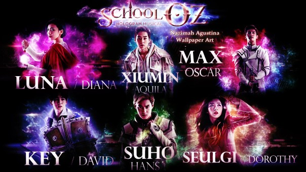 school oz 2 teaser video smtown hologram musical 2015vwallpaper by nazimah agustina