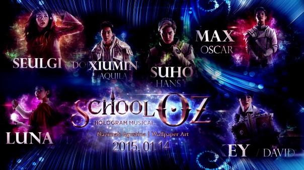 school oz red velvet seulgi dorotho max changmin tvxq oscar luna f(x) diana key shinee david suho exo hans xiumin aquilla