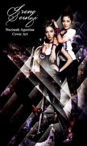 seulrene seulgi irene red velvet photoshoot stripped light abstract swag cover by nazimah agustina'