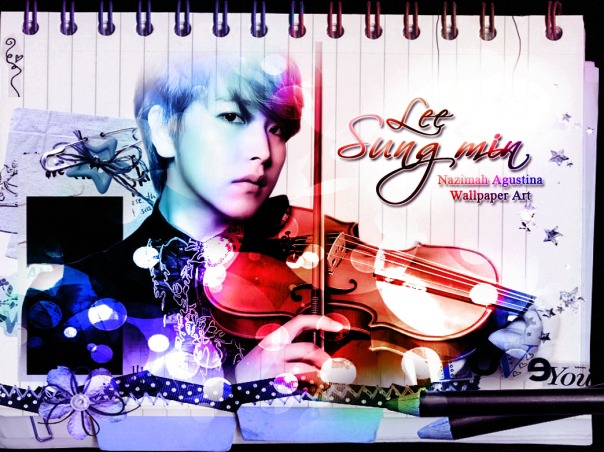 sungmin lee january super junior wallpaper by nazimah agustina