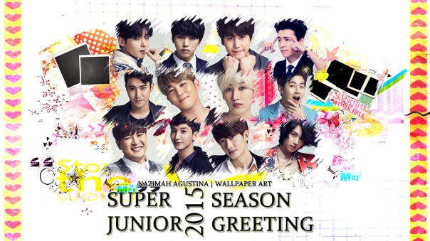 super junior 2015 season greeting cute suju sj wallpaper by nazimah agustina