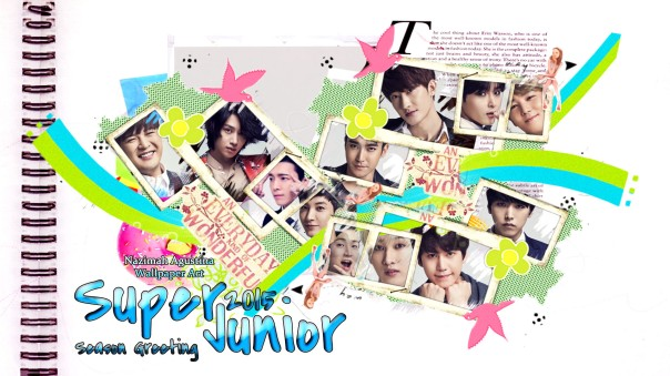 super junior 2015 season greeting wallpaper by nazimah agustina