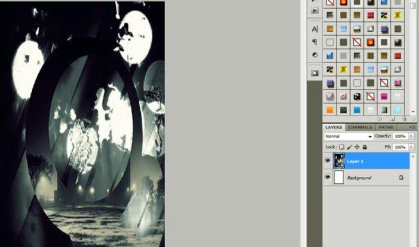 tutorial edit stock membuat cover art dark light shinee kim jonghyun debut solo base 6