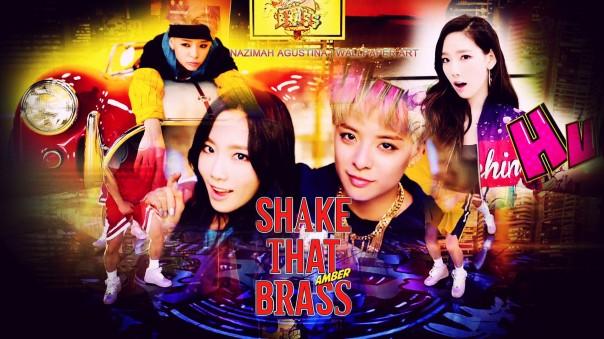 Amber ft taeng taeyeon snsd fx liu shake that brass mv cature screencaps teaser wallpaper by nazimah agustina