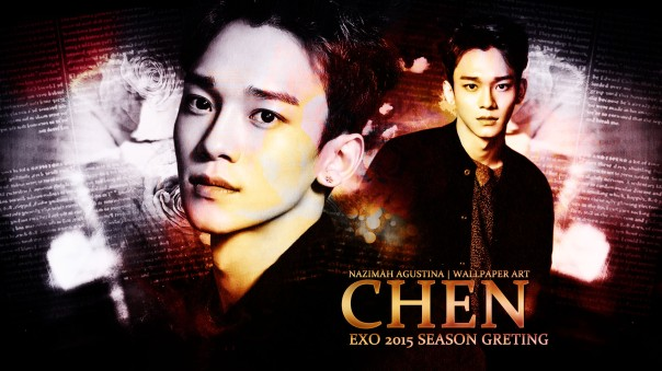 chen 2015 season greeting exo kim jongdae korean wave main vocal by nazimah agustina