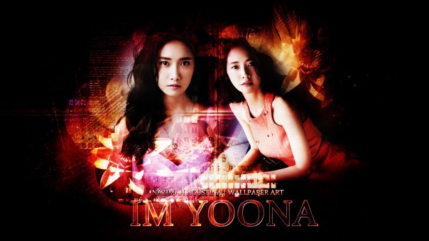im yoona abstact snsd girls generation visal center group korean nation wallpaper
