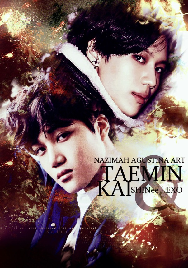TAEKAI 2015 cover season greeting exo shinee kim jongin lee taemin by nazimah agustina kai abstract
